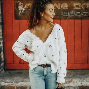 4si3nna star sweater